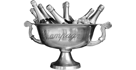 Bottles of champagne - All about Rehoboam Champagne